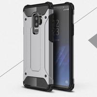 Armory odolný hybridní obal na Samsung Galaxy S9 Plus - šedý