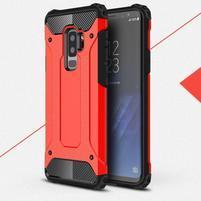 Armory odolný hybridní obal na Samsung Galaxy S9 Plus - červený