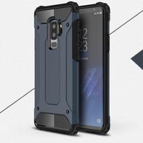 Armory odolný hybridní obal na Samsung Galaxy S9 Plus - šedomodrý