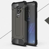 Armory odolný hybridní obal na Samsung Galaxy S9 Plus - coffee