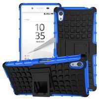 Outdoor odolný obal na Sony Xperia Z5 - modrý