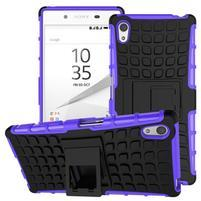 Outdoor odolný obal na Sony Xperia Z5 - fialový