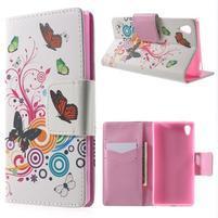 Lovely pouzdro na mobil Sony Xperia Z5 - kouzelní motýlci
