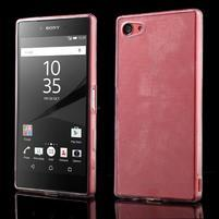 Ultratenký gelový obal na mobil Sony Xperia Z5 Compact - transparentní