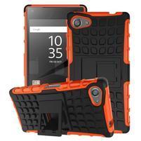 Outdoor odolný kryt na mobil Sony Xperia Z5 Compact - oranžový
