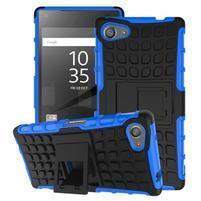 Outdoor odolný kryt na mobil Sony Xperia Z5 Compact - modrý