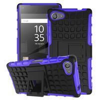 Outdoor odolný kryt na mobil Sony Xperia Z5 Compact - fialový