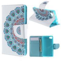 Wally Peňaženkové puzdro pre Sony Xperia Z5 Compact - mandala