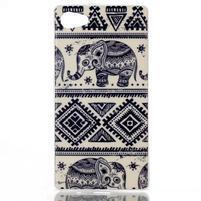 Sally gelový obal na Sony Xperia Z5 Compact - sloni
