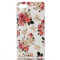Sally gelový obal na Sony Xperia Z5 Compact - květiny