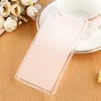 Double matný gelový obal na Sony Xperia Z5 Compact - bílý