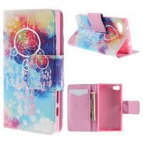 Diary peněženkové pouzdro na Sony Xperia Z5 Compact - dream
