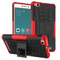Outdoor odolný obal na mobil Xiaomi Redmi 3 Pro - červený