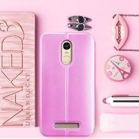 Vintage PU kožené pouzdro na mobil Xiaomi Redmi Note 3 - růžové
