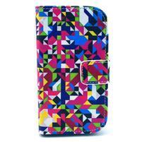 Safety pouzdro pro Samsung Galaxy S Duos/Trend Plus - mozaika barev