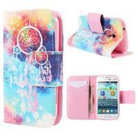 Peňaženkové puzdro pre Samsung Galaxy S Duos / Trend Plus - snívanie