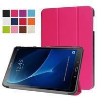 Trifold polohovatelné pouzdro na Samsung Galaxy Tab A 10.1 (2016) - rose