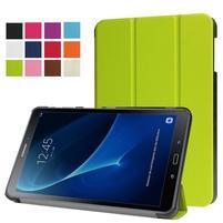 Trifold polohovatelné pouzdro na Samsung Galaxy Tab A 10.1 (2016) - zelené