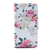 Pouzdro na mobil Sony Xperia Z1 Compact - květiny