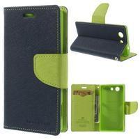 Diary peněženkové pouzdro na mobil Sony Xperia Z3 Compact - tmavěmodré