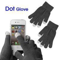 Touch dotykové rukavice pre mobil - šedé