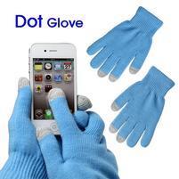 Touch dotykové rukavice pre mobil - modré