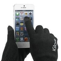 iGlove rukavice na mobil - černé