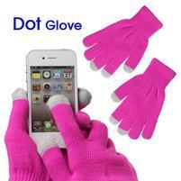Touch dotykové rukavice na mobil - rose
