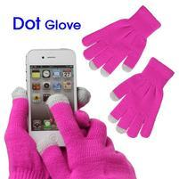 Touch dotykové rukavice pre mobil - rose
