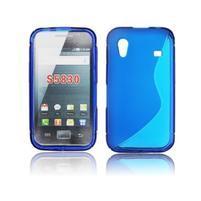 Gelové S-line pouzdro na Samsung Galaxy Ace S5830- modré