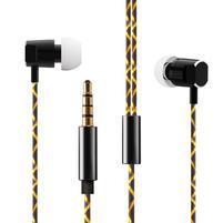 W02 MegaBass handsfree sluchátka - černá