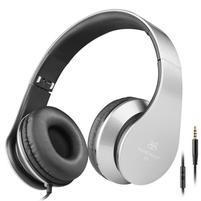 Fashion60 flexibilní uzavřená sluchátka s handsfree - šedá