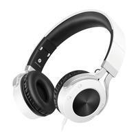 Pic9 náhlavní sluchátka s handsfree jack 3.5 mm - černá/bílá