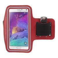 Gym běžecké pouzdro na mobil do rozměrů 153.5 x 78.6 x 8.5 mm - červené
