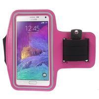 Gym běžecké pouzdro na mobil do rozměrů 153.5 x 78.6 x 8.5 mm - rose