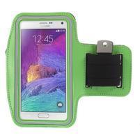 Gym běžecké pouzdro na mobil do rozměrů 153.5 x 78.6 x 8.5 mm - zelené