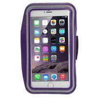Soft pouzdro na mobil vhodné pro telefony do 160 x 85 mm - fialové