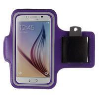 Gyms pouzdro na běhání pro mobily do 143 x 70 mm - fialové
