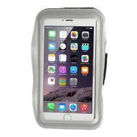 Soft pouzdro na mobil vhodné pro telefony do 160 x 85 mm - šedé