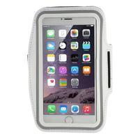 Soft pouzdro na mobil vhodné pro telefony do 160 x 85 mm - bílé