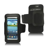 Fitness sportovní pouzdro na mobil (140 x 75 mm) - černé