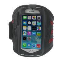Absorb sportovní pouzdro na telefon do velikosti 125 x 60 mm - červené