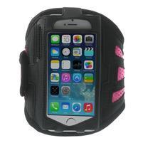 Absorb sportovní pouzdro na telefon do velikosti 125 x 60 mm - růžové
