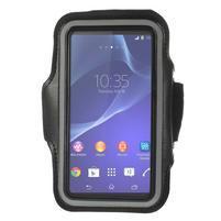 Všestranné pouzdro na ruku do rozměru telefonu 146 x 73 mm - černé