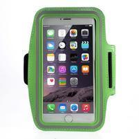 Soft pouzdro na mobil vhodné pro telefony do 160 x 85 mm - zelené