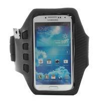 Sports Gym pouzdo na ruku pro velikost mobilu až 140 x 70 mm - černé