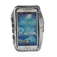 Sports Gym pouzdo na ruku pro velikost mobilu až 140 x 70 mm - bílé
