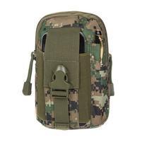 Outdoor univerzální nepromokavá sportovní taštička na mobil a další zařízení do 159 x 78 mm - army III