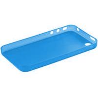 Gelové matné pouzdro na Apple iPhone 4, 4S- modré