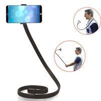 Selfies X1 tvarovatelný stojan/držák na mobil - černý